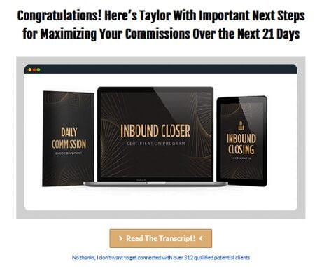 Inbound Closer with Taylor Welch