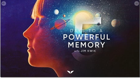 Mindvalley Course - 5 Days To A Powerful Memory by Jim Kwik